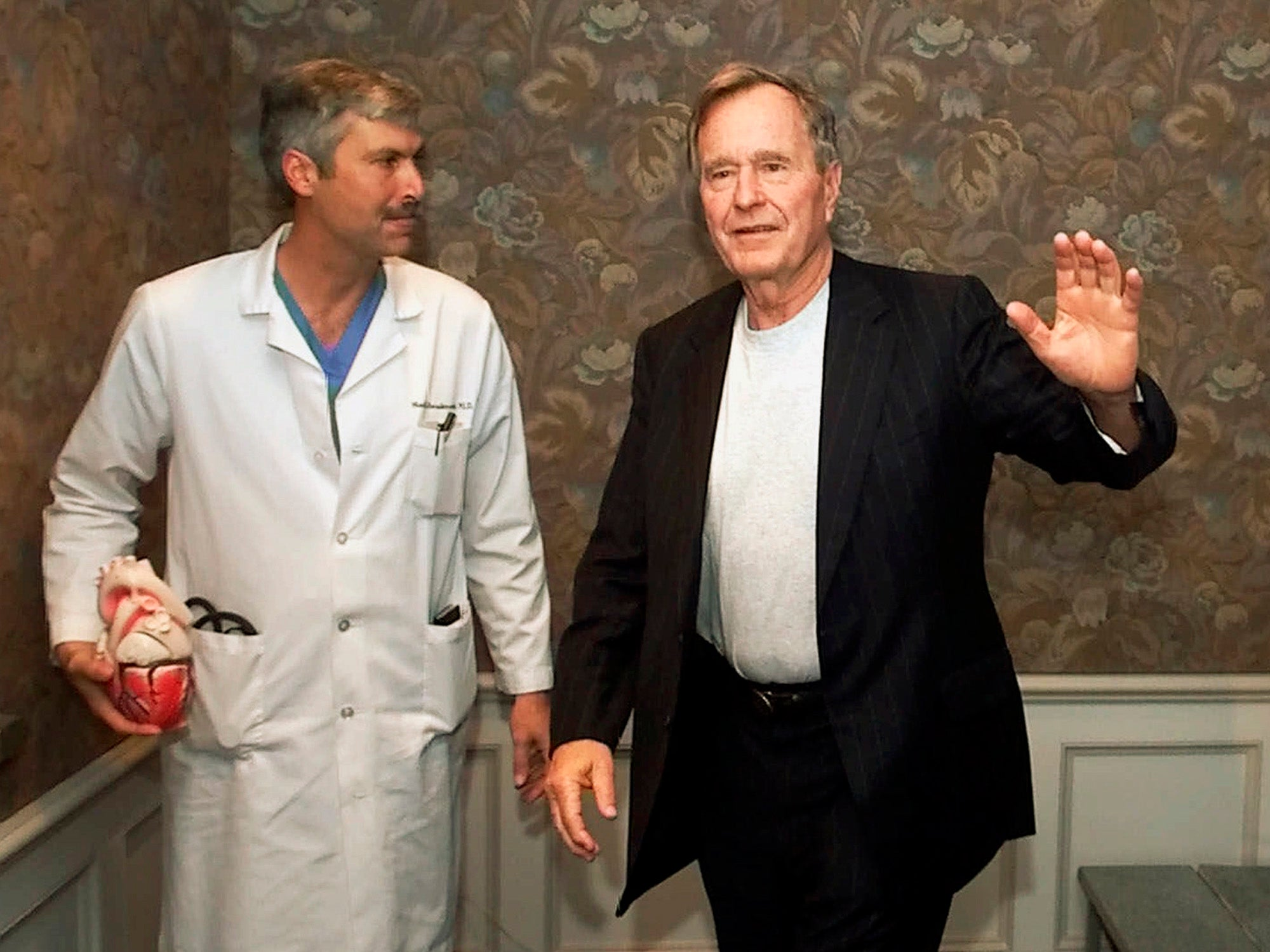 Man accused of killing George W Bush's cardiologist may have been seeking revenge, police say