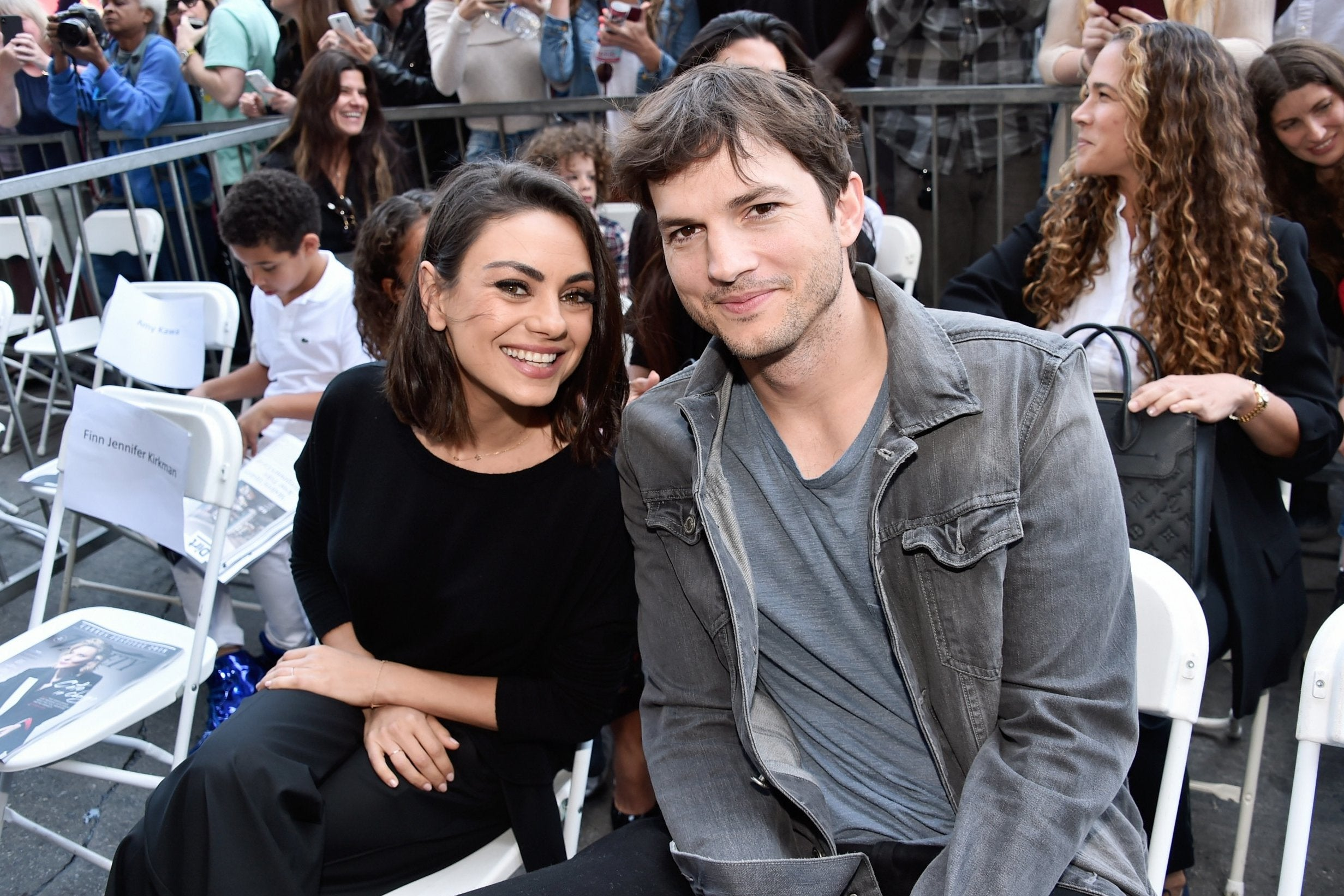Mila Kunis and Ashton Kutcher visited the hometown of actress Chernivtsi