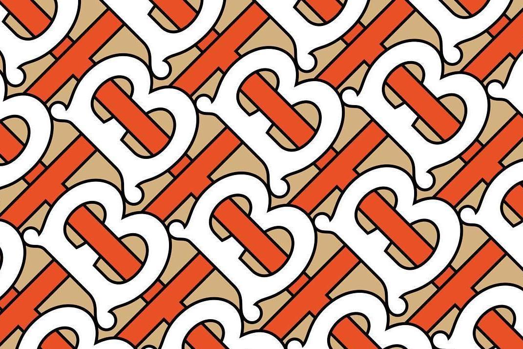 tb monogram burberry