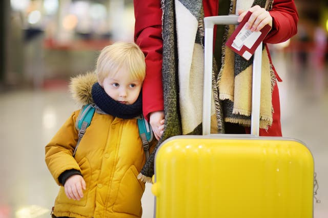Packing for a holiday takes 36 minutes longer for people with children