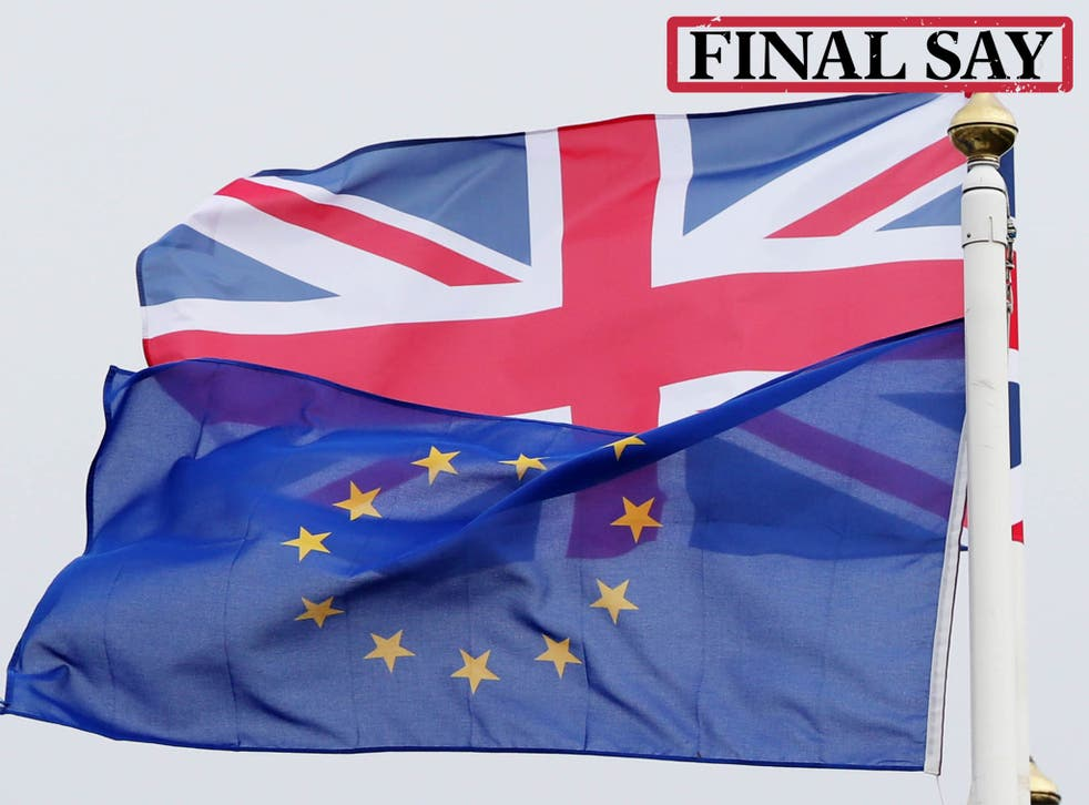 Sign our petition for a referendum on the deal