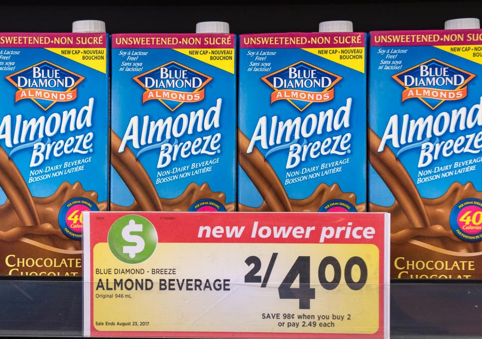 Thousands Of Almond Breeze Milk Cartons Recalled For Containing