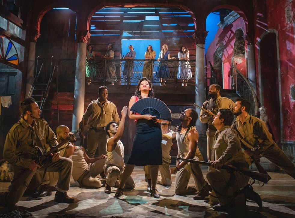 High energy: 'Carmen la Cubana', at Sadlers Wells