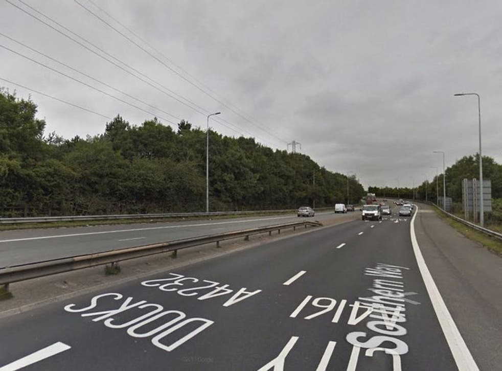 Southern Way in Cardiff remains closed