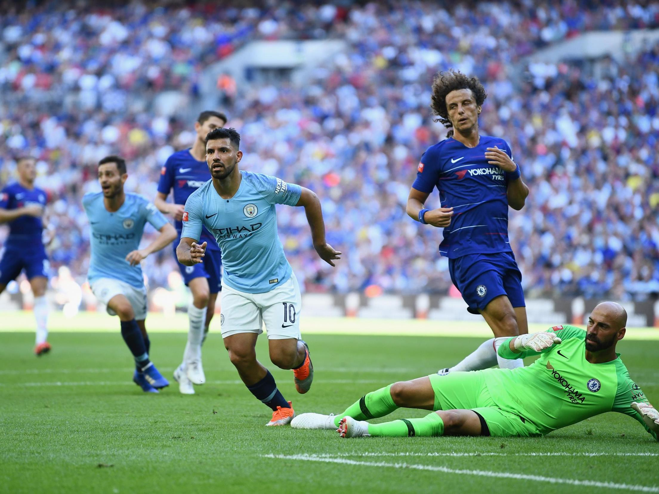 City Chelsea: New Season, Same Old Manchester City As Sergio Aguero