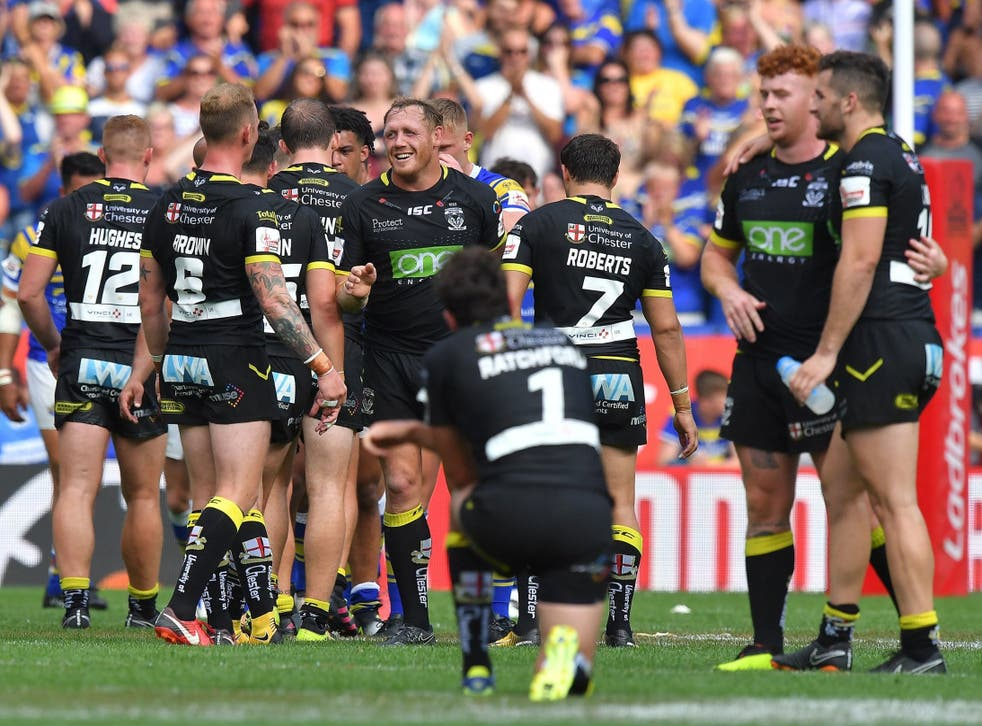 Warrington will now meet Catalans Dragons in the final