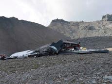 Santa Ana plane crash: Five dead after aircraft nosedives
