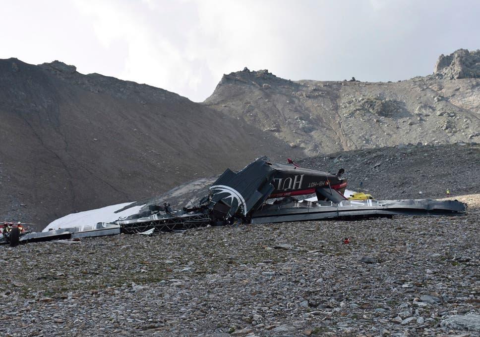 Swiss Alps plane crash: Vintage aircraft crashes into