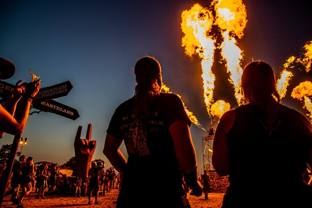 Two elderly men escaped their retirement home to attend Wacken festival in Germany