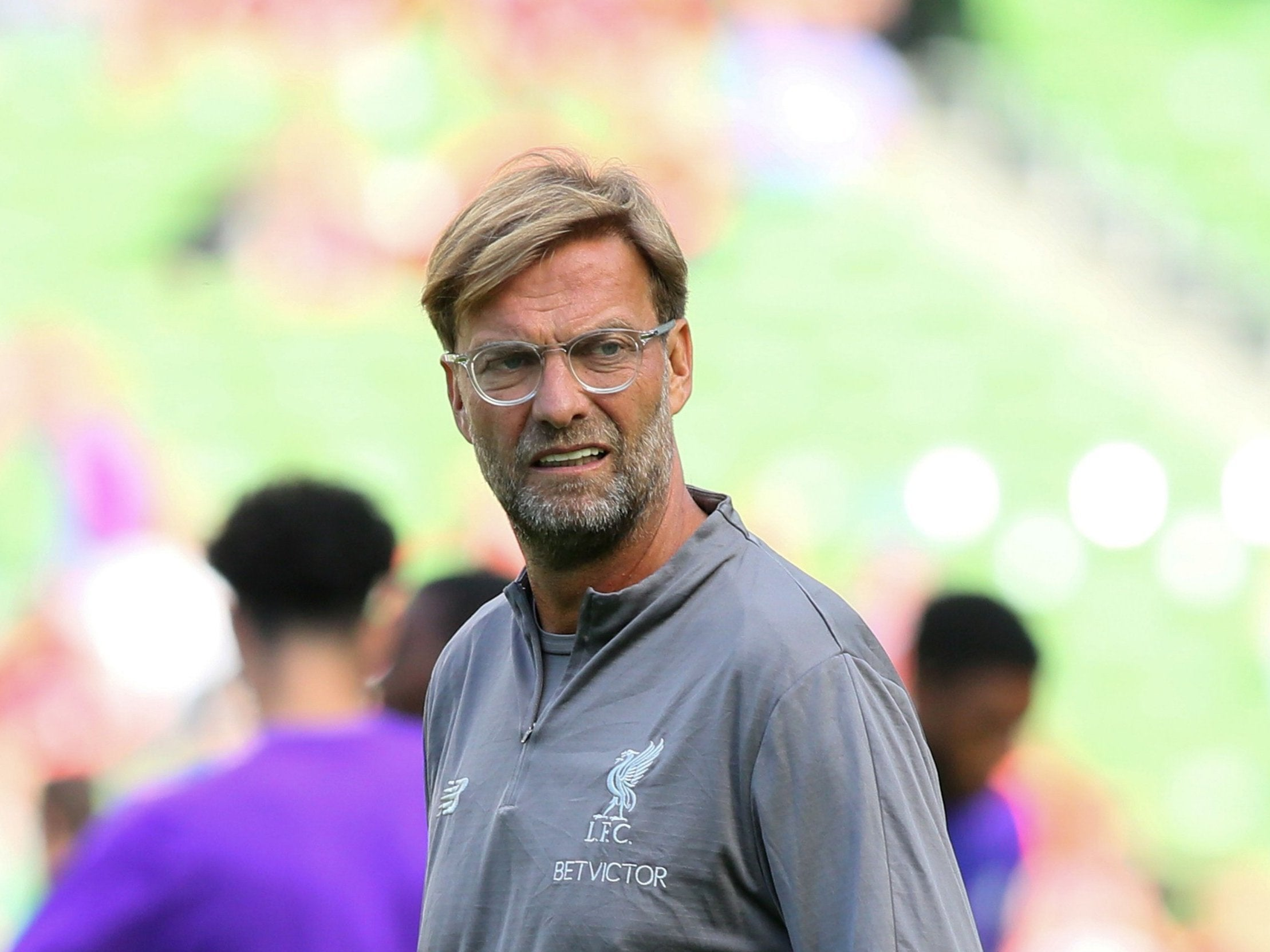 Jurgen Klopp concedes expectations are high at Liverpool after strong summer window