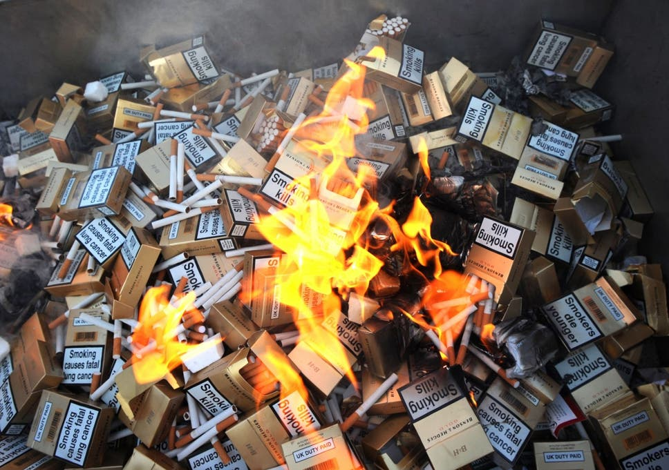 How counterfeit cigarettes containing pesticides and arsenic make it