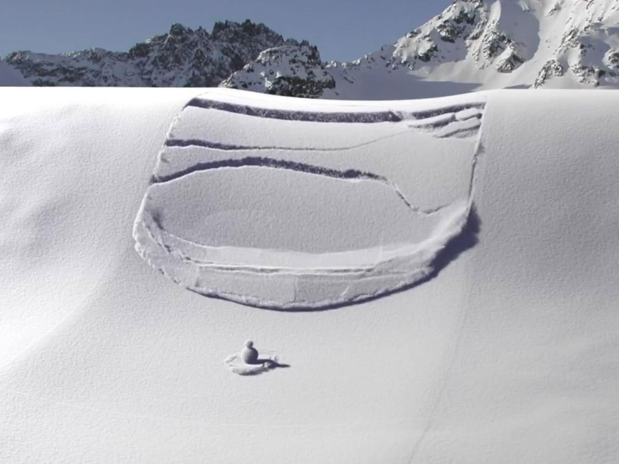 3D animation shows what happens when an avalanche strikes | The Independent