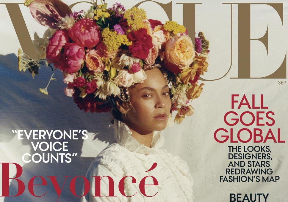 Beyonc Fronts Us Vogue In Historic September Issue Cover By Black