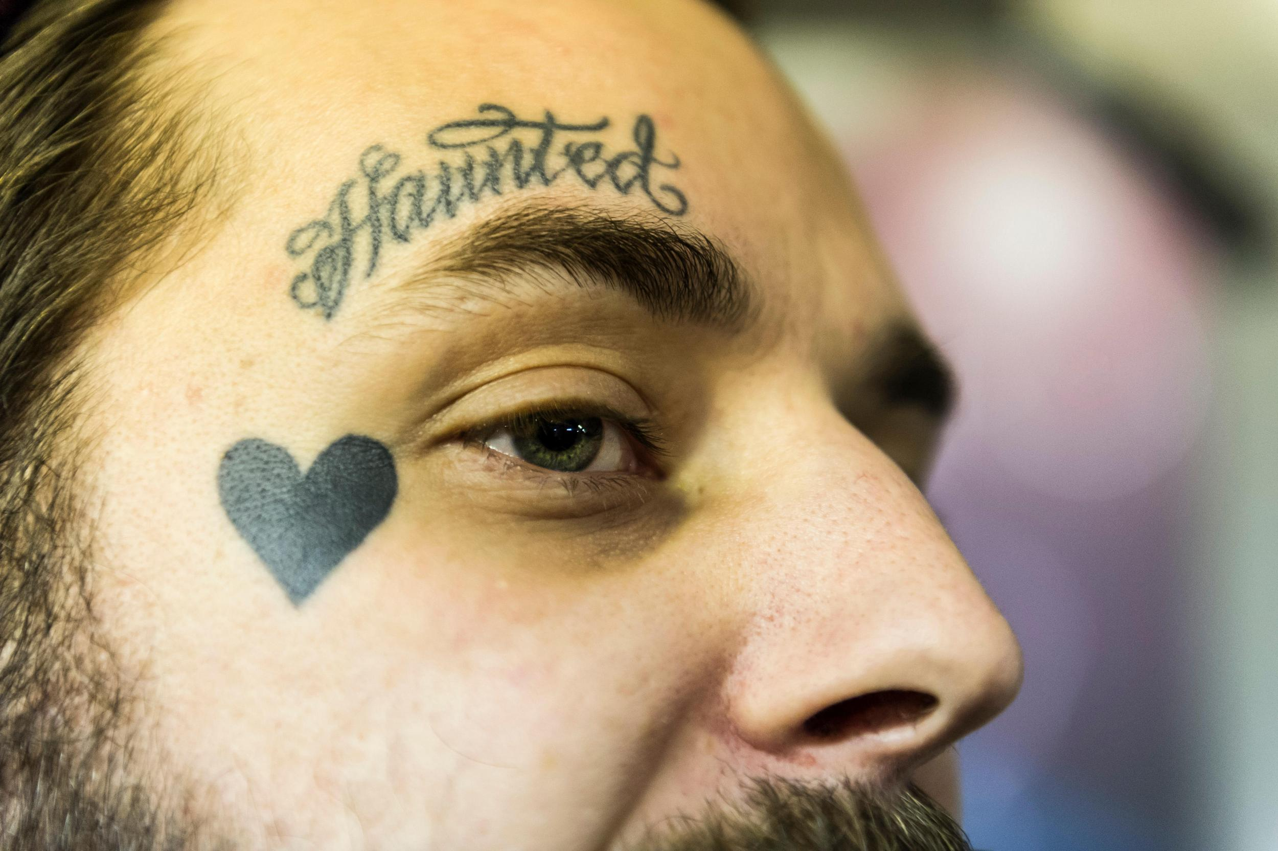 1ccfb018f685f How face tattoos have gone mainstream | The Independent