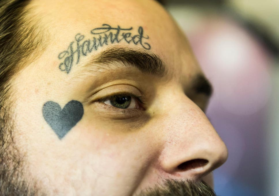 2437cdc65 Face tattoos are no longer taboo and are sported by a growing number of  internationally renowned