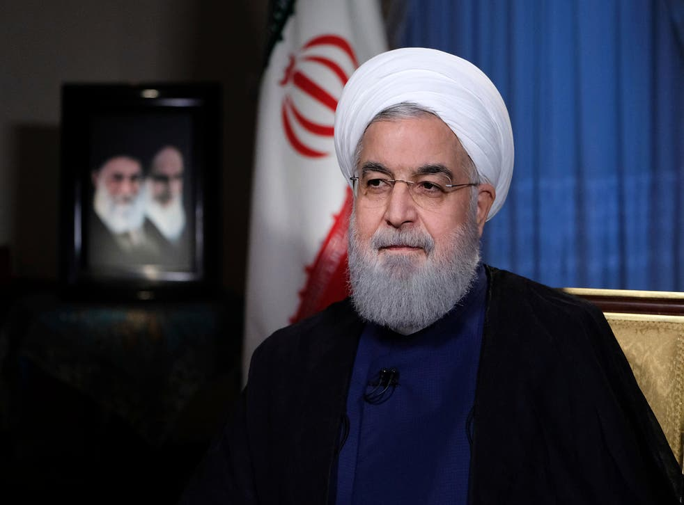 It's better for Rouhani to follow the example of others that Mr Trump has made a show of bullying before
