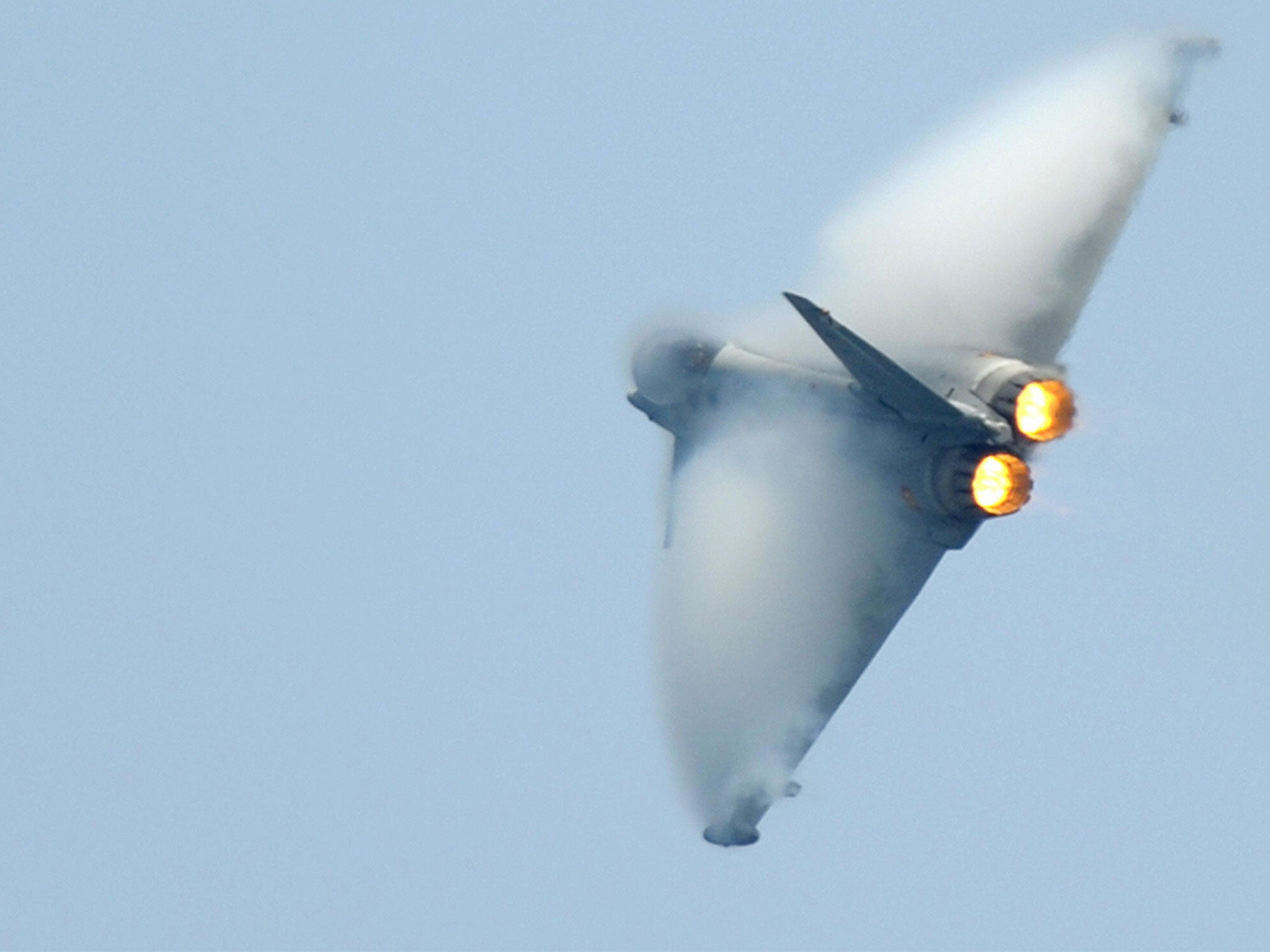 Spanish fighter jet accidentally fires missile near Russian