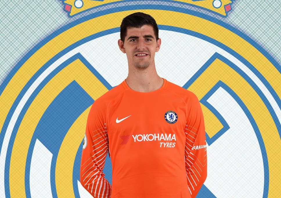 online store 4d7d7 a882c Chelsea confirm Thibaut Courtois move to Real Madrid with ...