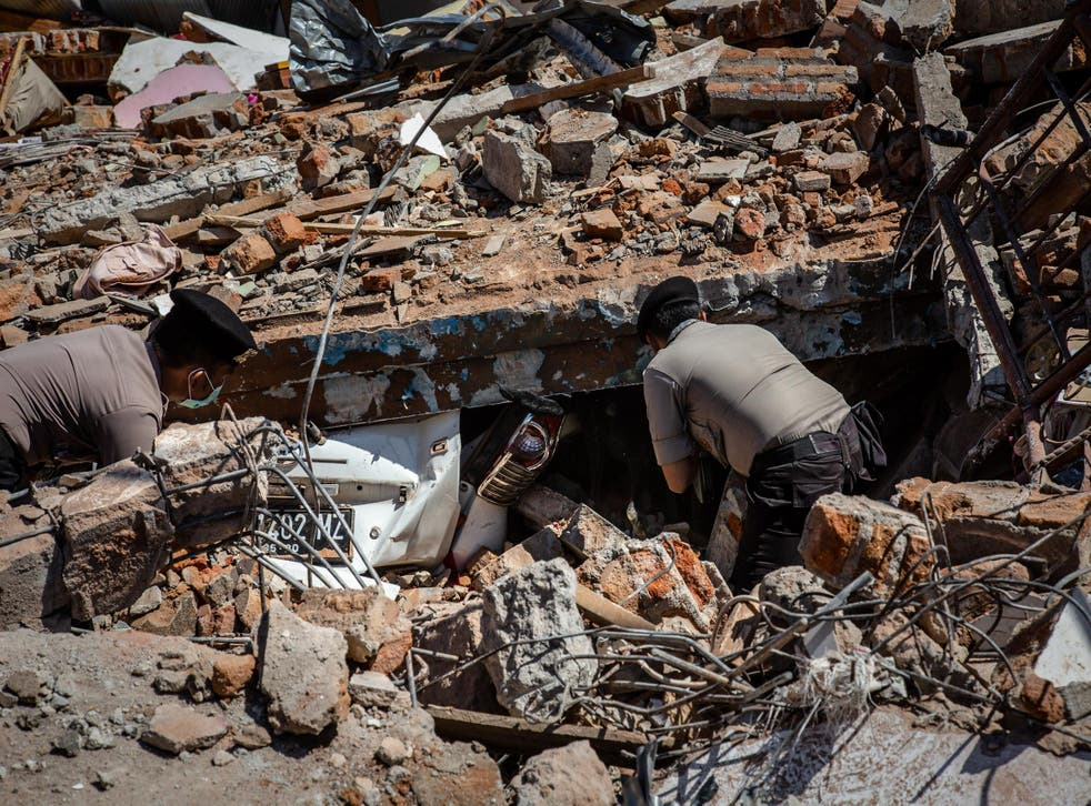 More than 60,000 houses have been destroyed in the disaster