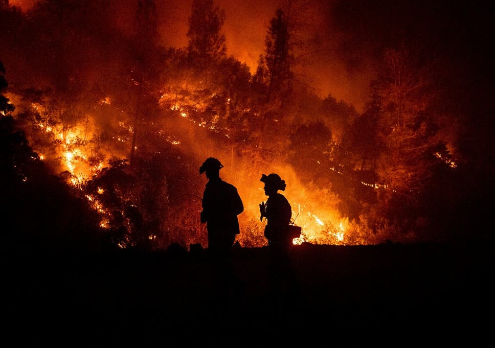 California wildfire: Should inmates be fighting the state's worst