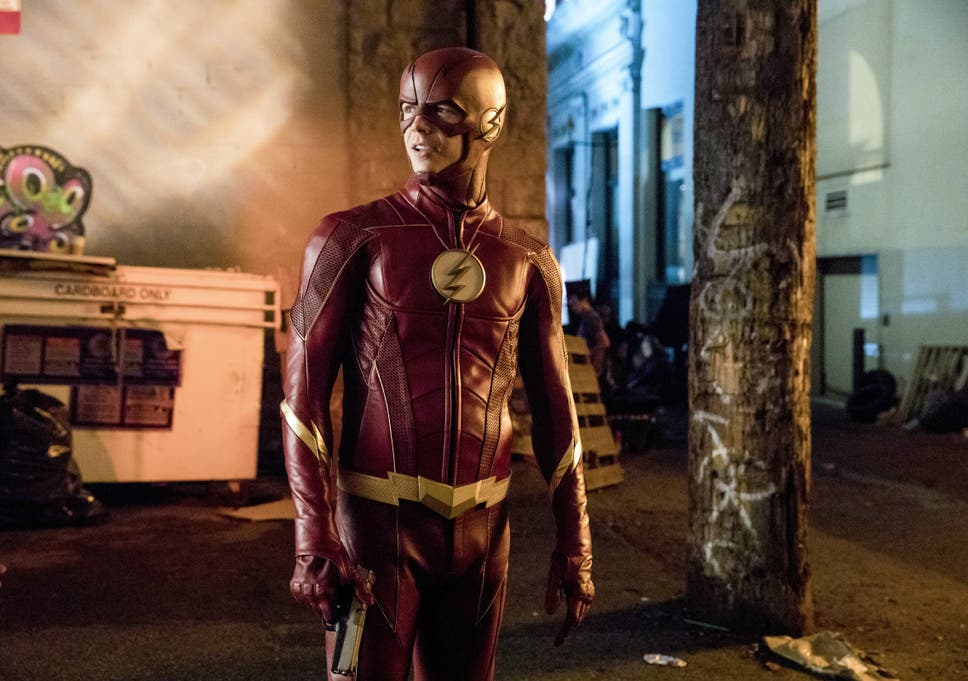 Flash Star Grant Gustin Hits Back At Body Shamers And New Suit