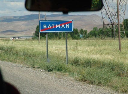 """Batman"" is not just a comic book vigilante, it is also a Turkish province"