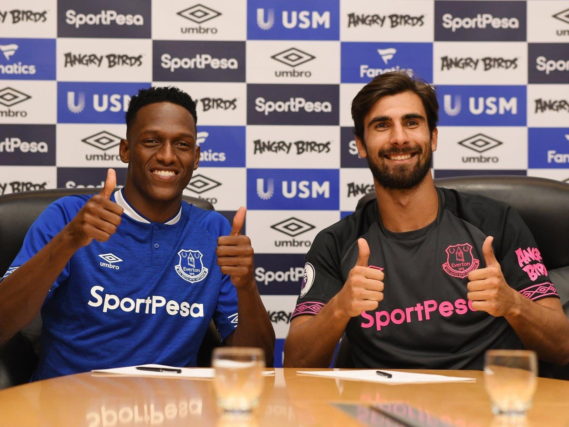 Everton transfer news: Club sign Bernard on free transfer and £27m Yerry Mina as Andre Gomez joins on loan