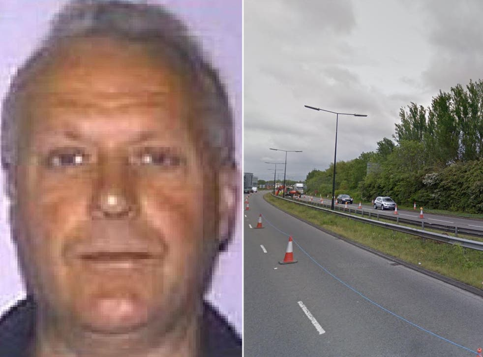 Police said the man may have been called Peter Thomas Harrison