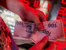 Indian rupee drops to all-time low against dollar as Turkish