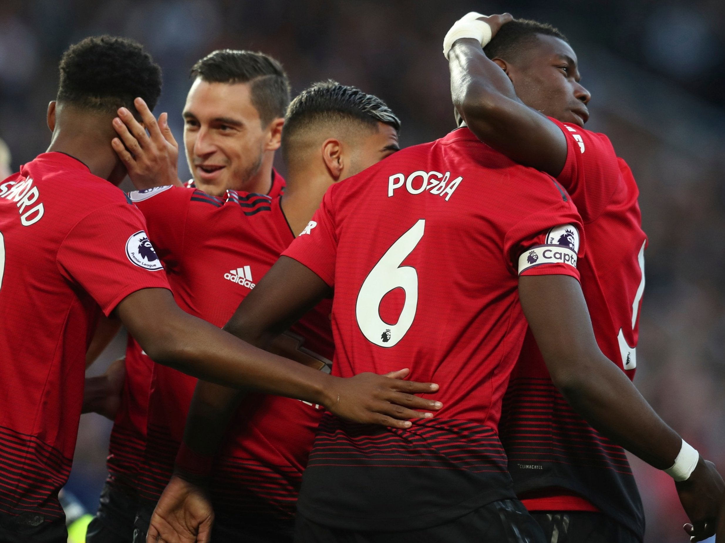 ac139e9f586 Paul Pogba pledges future to Manchester United and targets title challenge  after opening day victory | The Independent
