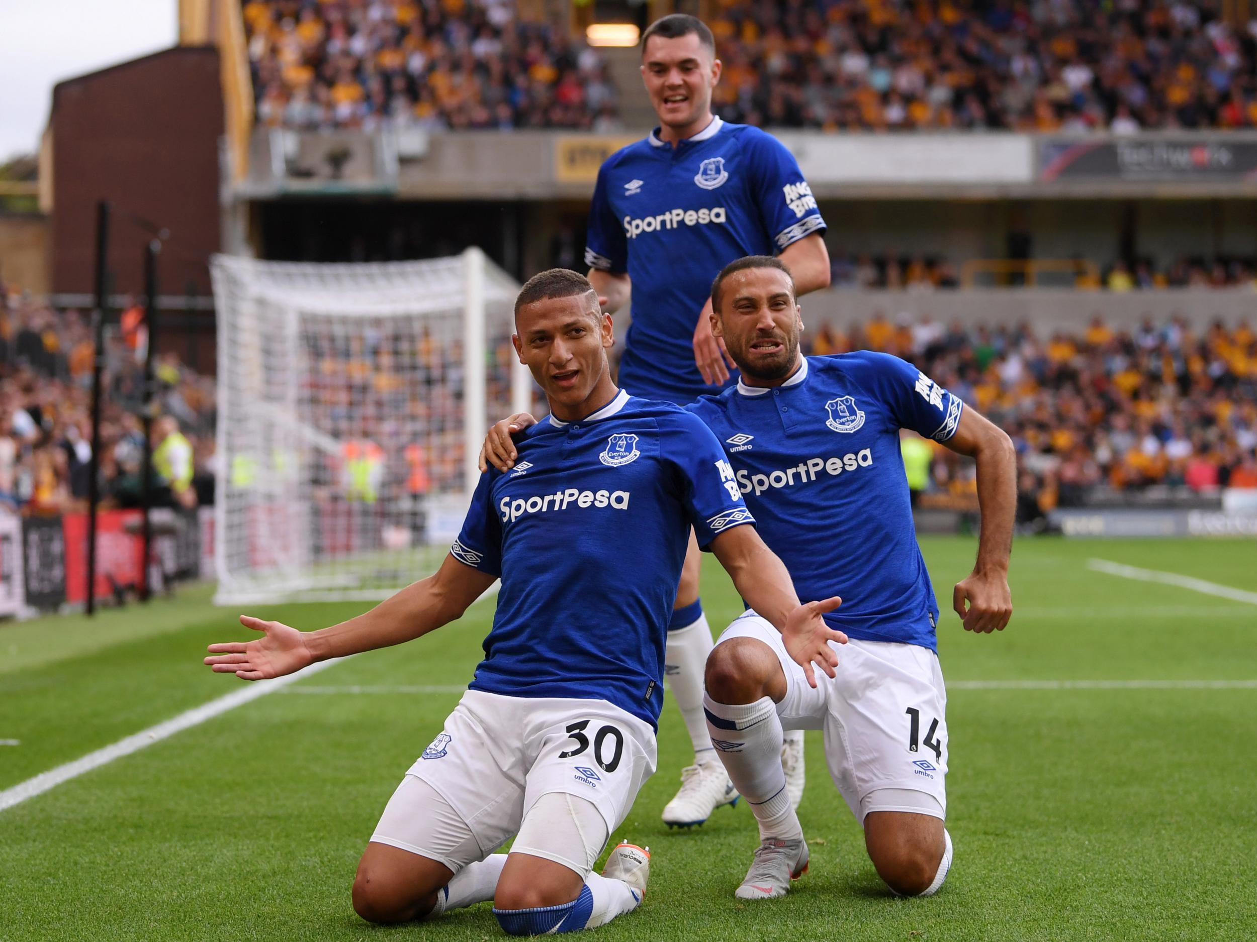 Richarlison Snatched A Brace For Everton On Saturday Getty Images