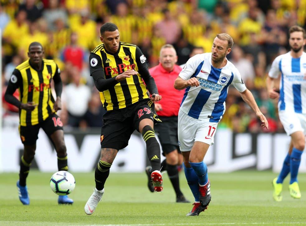 Glenn Murray in action against Watford on Saturday