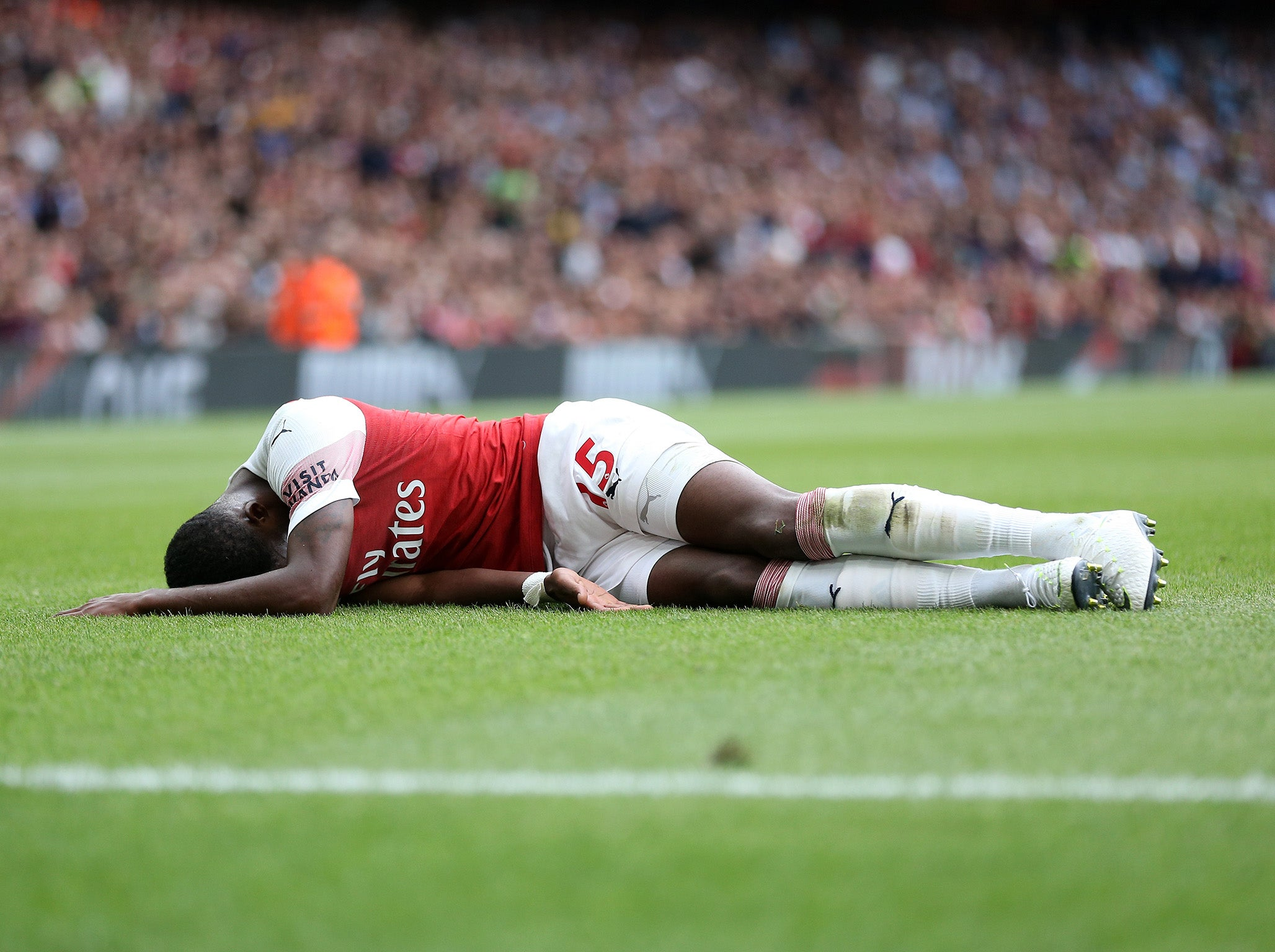 Arsenal news: Ainsley Maitland-Niles suffers leg fracture but Nacho Monreal and Danny Welbeck return to training