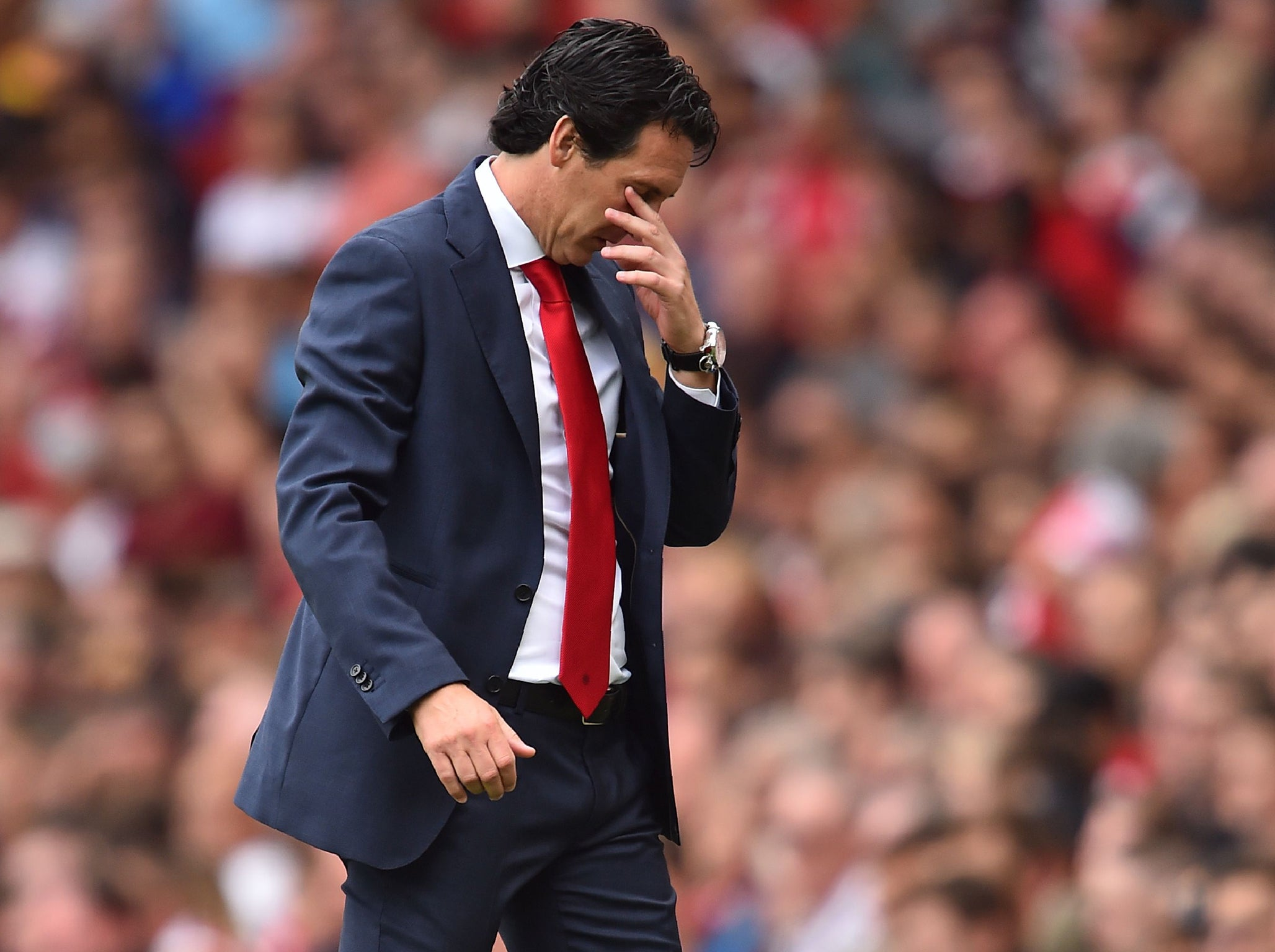 Arsenal news: Tony Adams issues fierce criticism of Unai Emery after Manchester City defeat