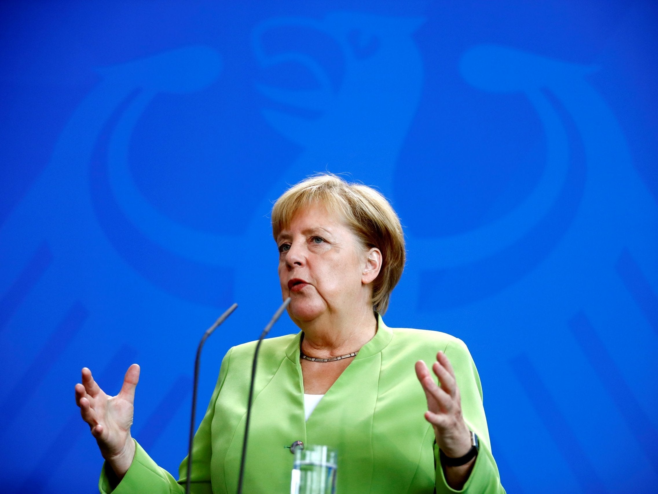 After England's exit from the EU, Merkel saw a real opportunity to take the place of the first 19