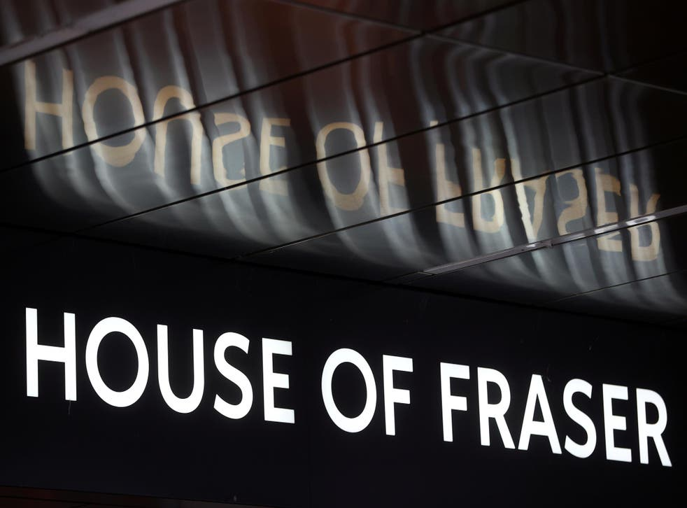House of Fraser's senior managers have been fired by new owner Sports Direct