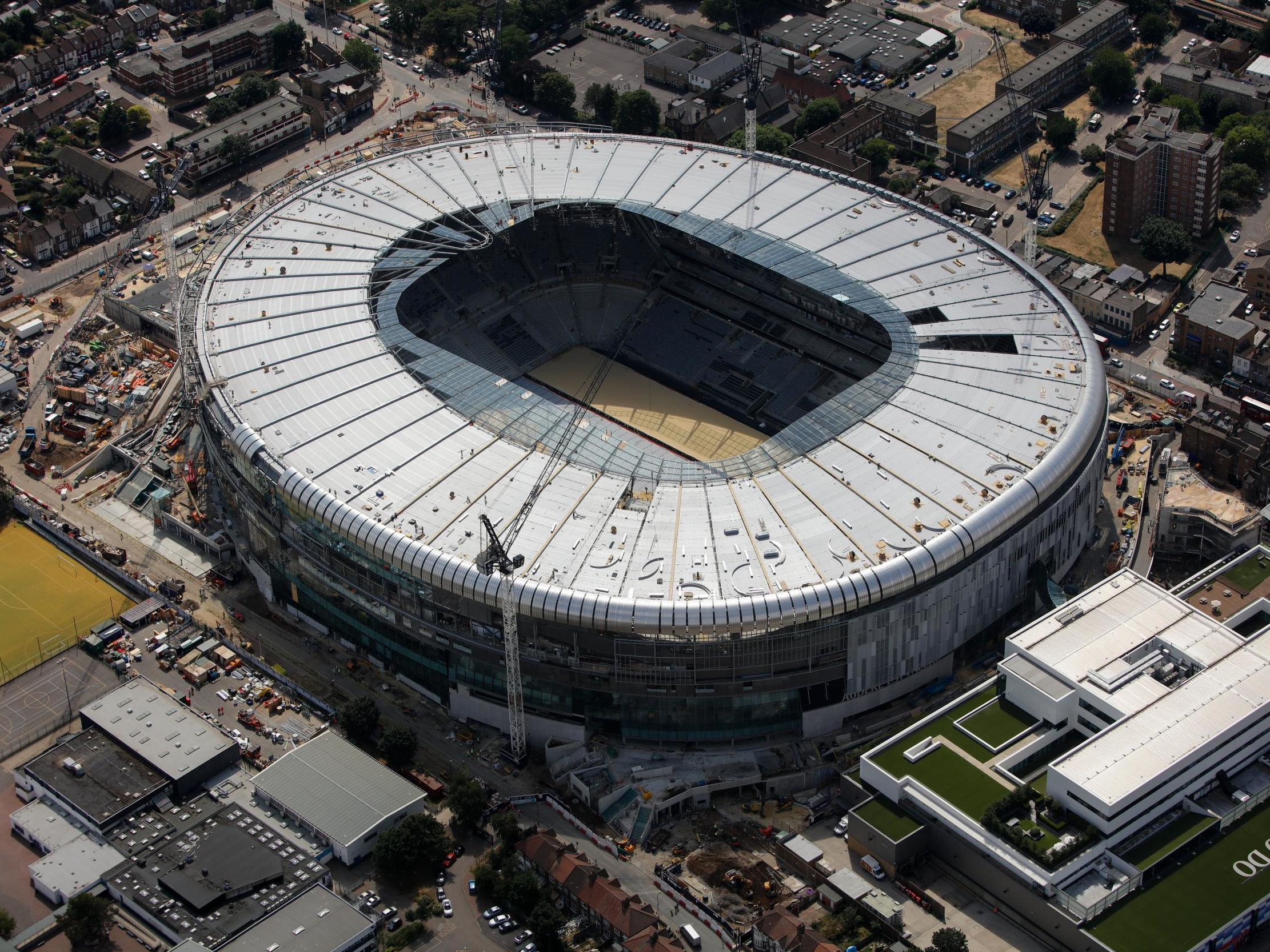 Tottenham delay new White Hart Lane opening due to safety concerns, moving two more games to Wembley