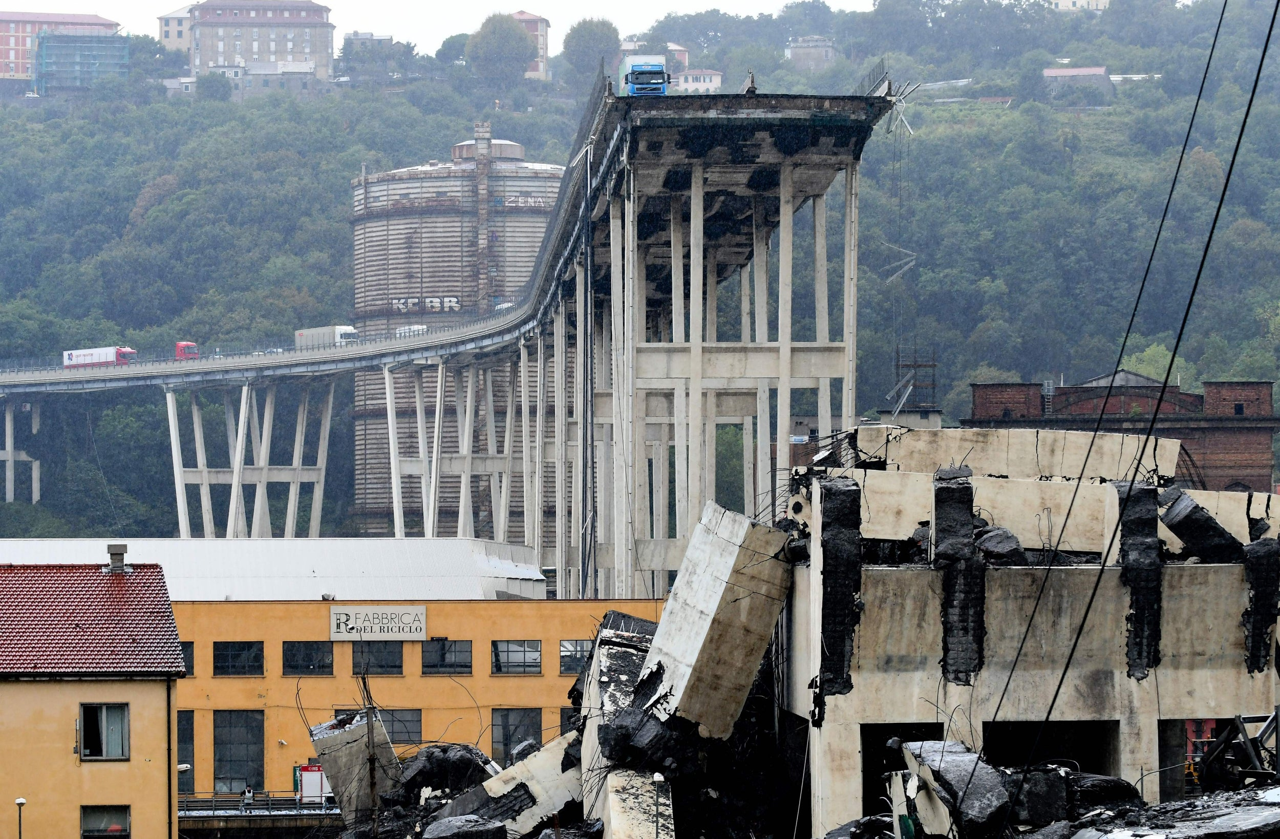 Why did the Genoa bridge collapse? Engineering experts weigh in on