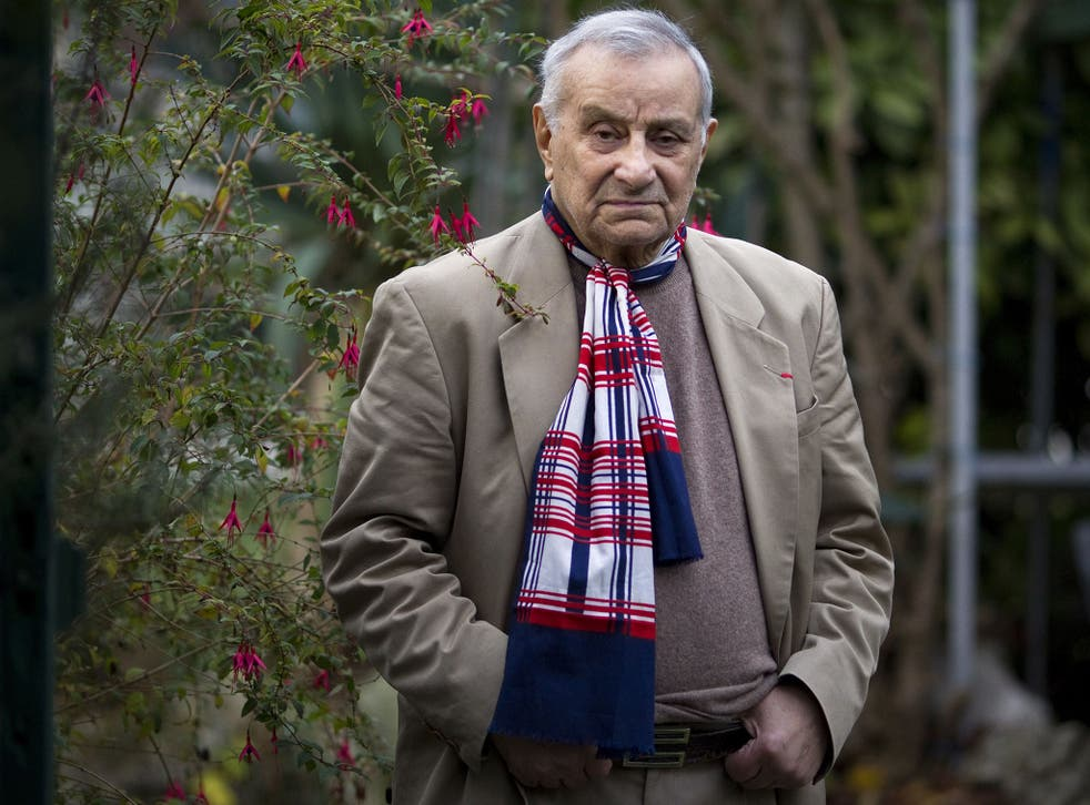 Tchakarian's service to his adopted home, France, won him its highest honour