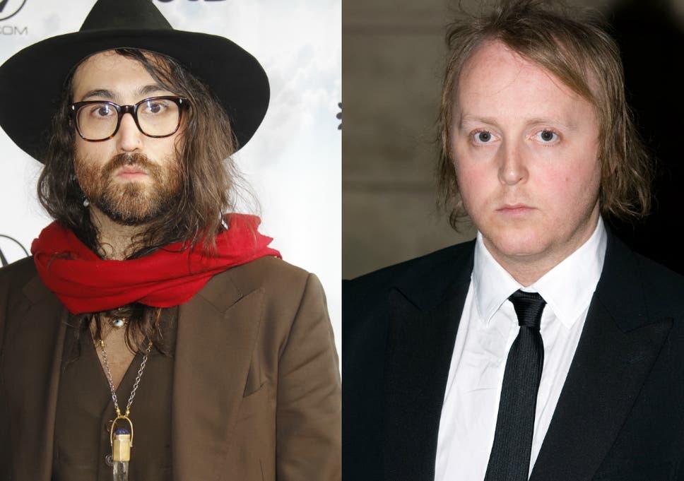 John Lennon And Paul McCartneys Lookalike Sons Pose For Selfie