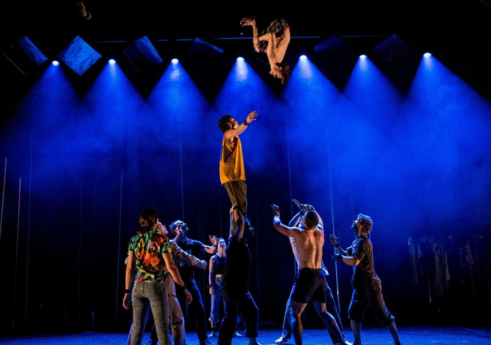 Backbone Royal Festival Hall London Review A Circus Without