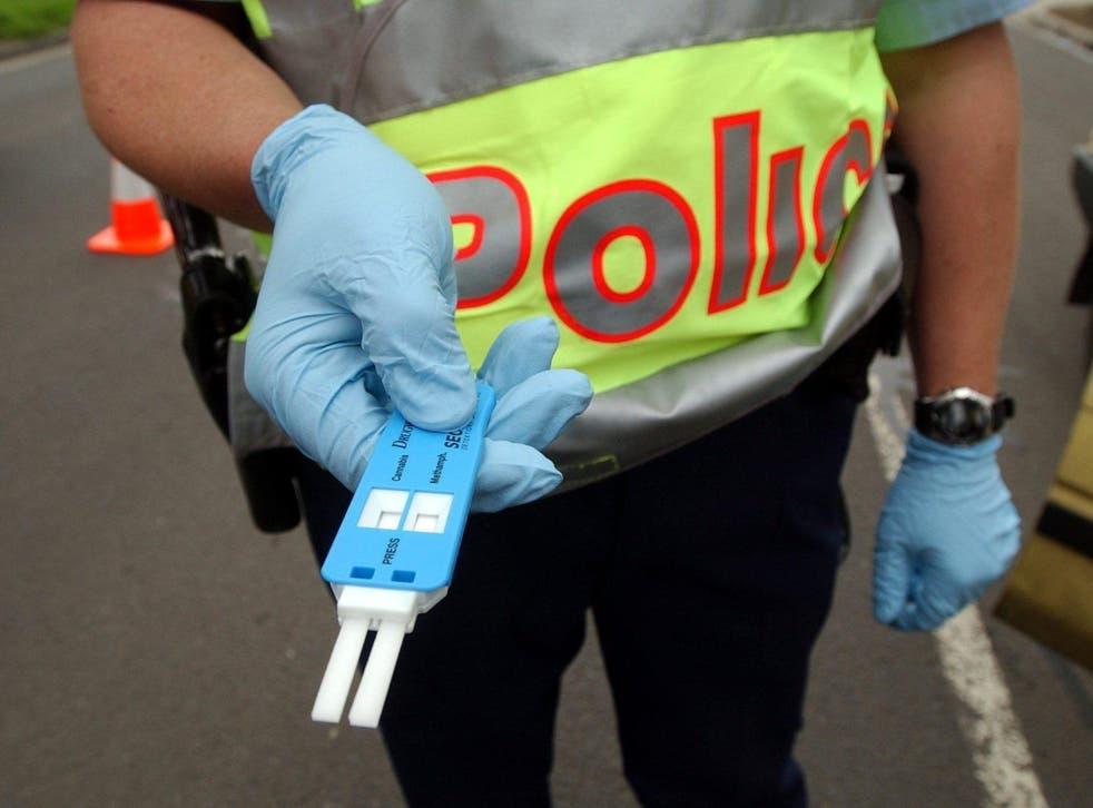 Spanish police have stepped up roadside drug and drink testing
