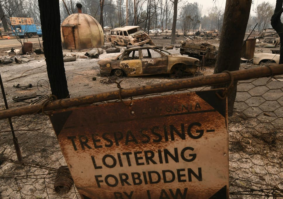 Couple whose caravan wheel sparked California wildfire told