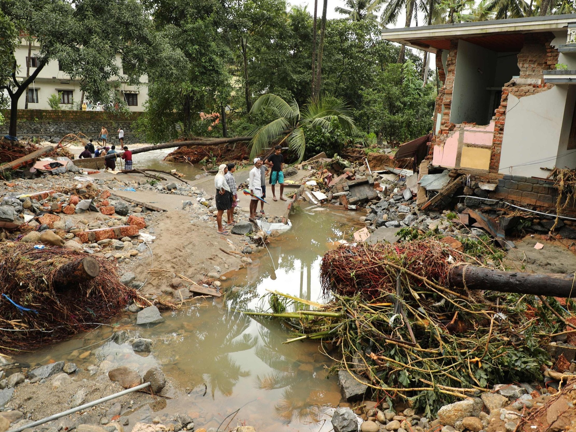 Kerala Floods: At Least 79 Killed In India Amid Landslides And Bridge  Collapses | The Independent