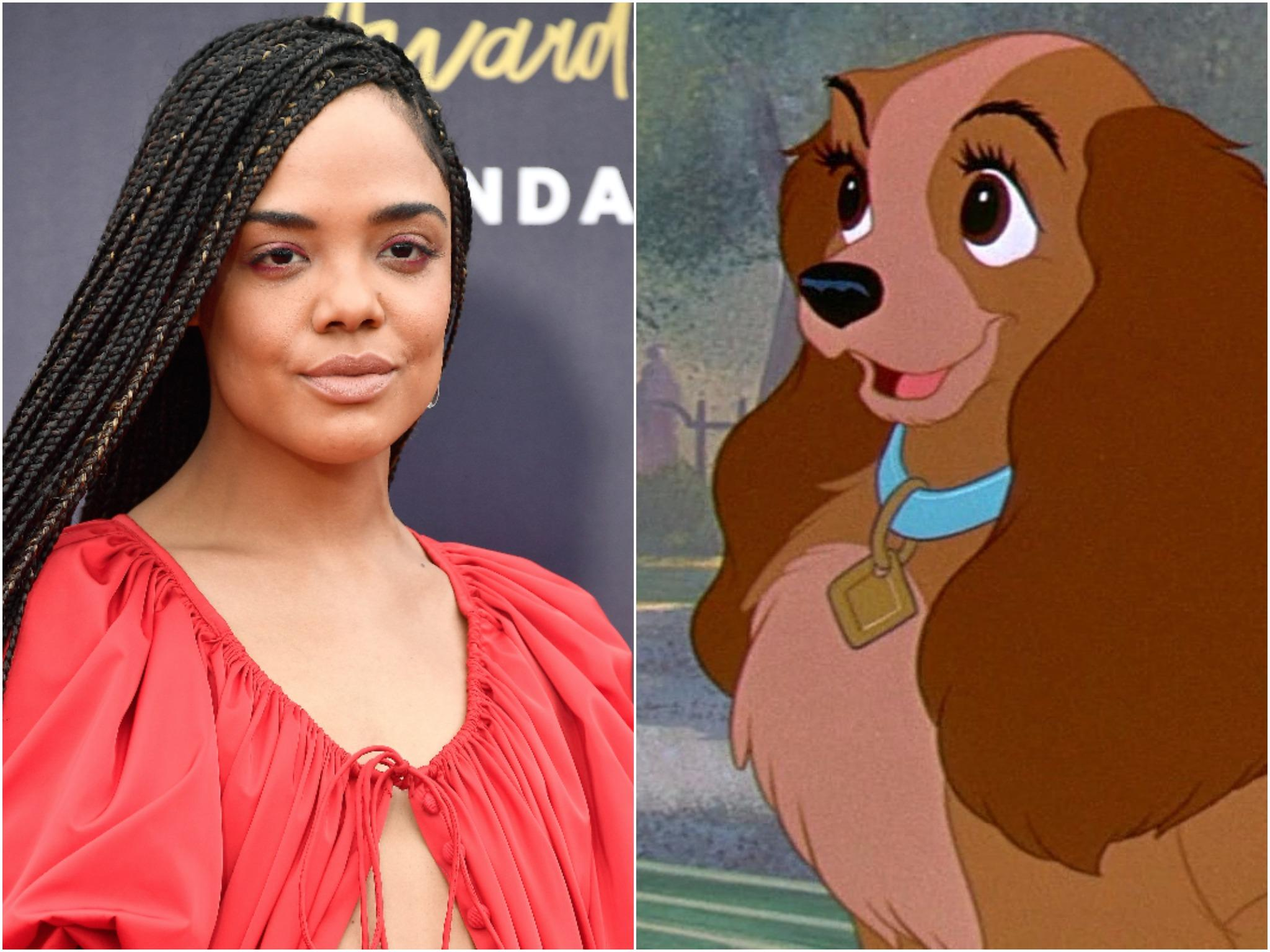 Lady And The Tramp Tessa Thompson To Voice Lady In Disney S Upcoming Live Action Remake The Independent The Independent