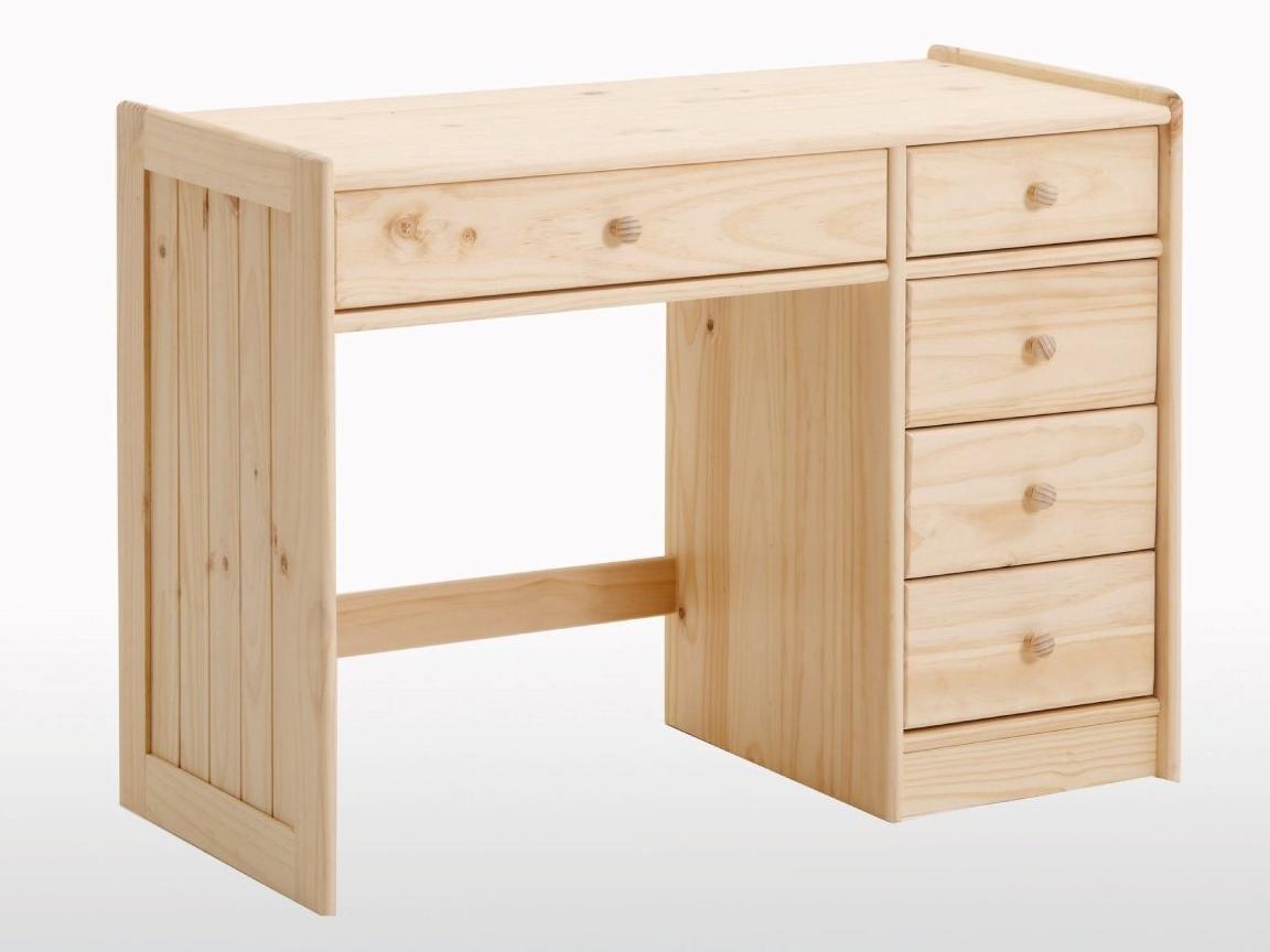 Beech Childs Childrens Desk Study Student School Wood Wooden