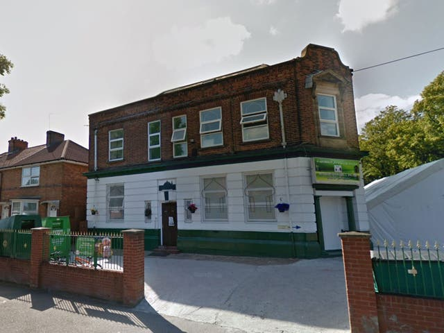 The Masjid Qamarul Islam mosque in Small Heath was the first to be attacked on 15 August