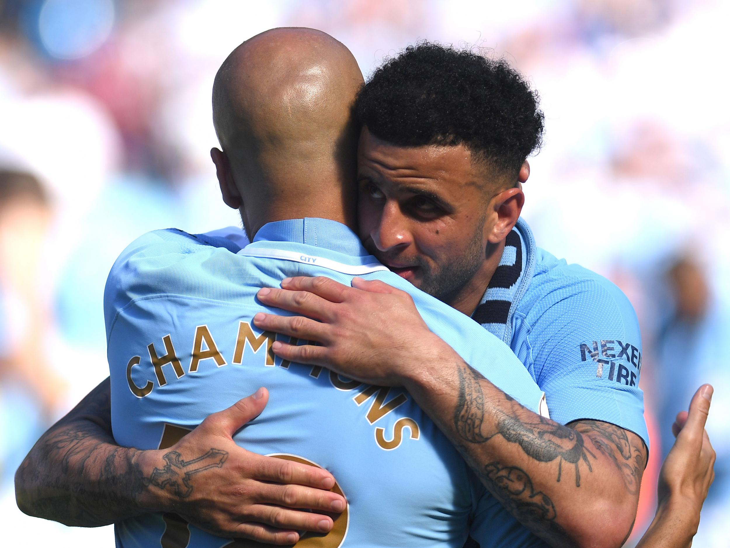 Manchester City want to dominate English football and can under Pep Guardiola, says Kyle Walker