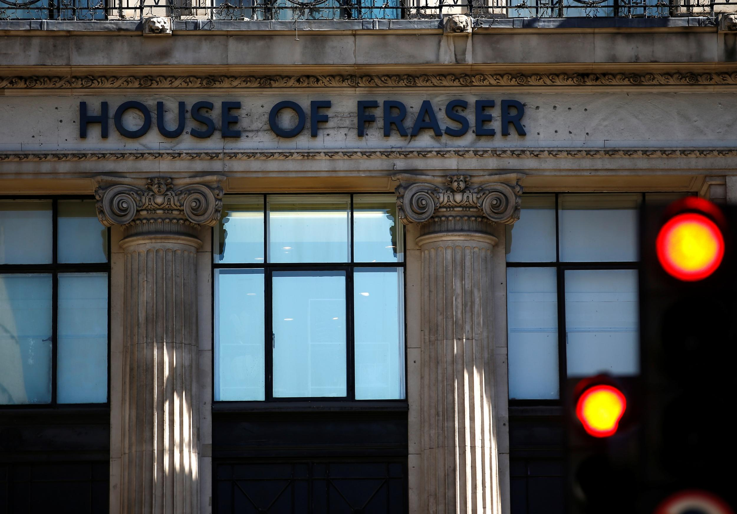 House of Fraser cancels online orders and stops accepting gift cards