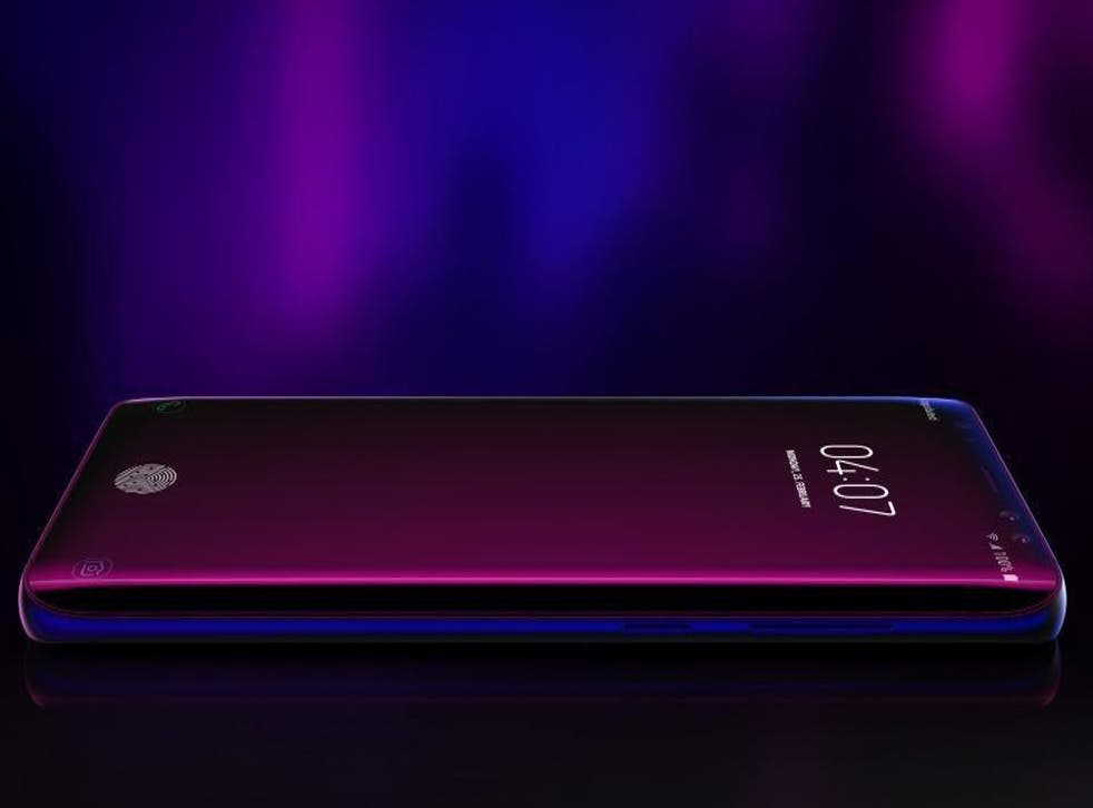 A concept design for the Samsung Galaxy S10